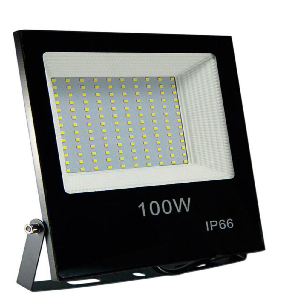 REFLECTOR MULTI  LED 100W SLIM BLANCO FRIO IP66 FLOOD LIGH