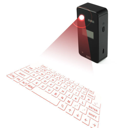 TECLADO VIRTUAL LASER KEYBOARD CON DISPLAY