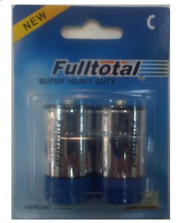 FULLTOTAL PACK X 2 PILAS SUPER HEAVY DUTY  C