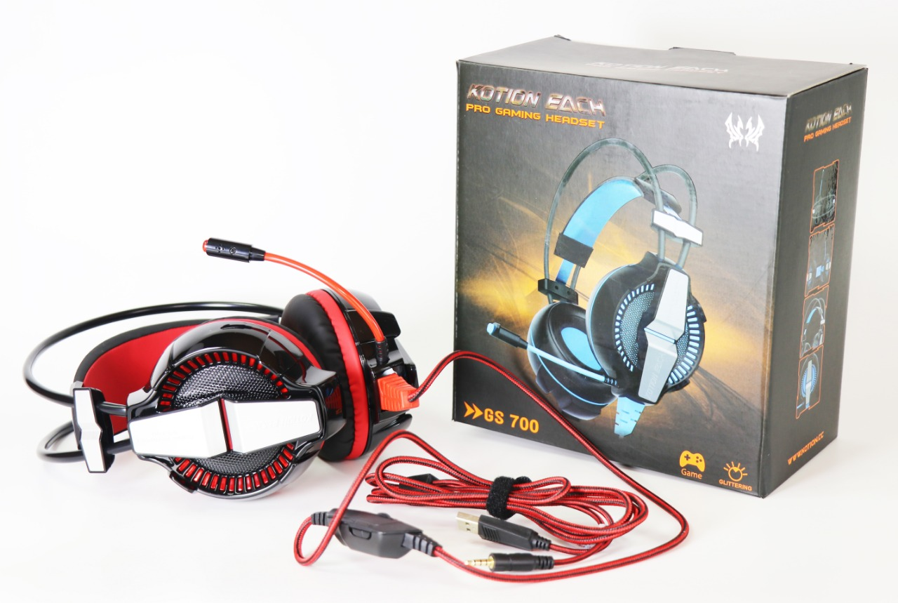 SSIE AURICULAR GAMER PARA PC Y PS4 GS700