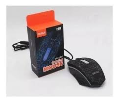 SSIE MOUSE GAMER ILUMINADO C/CABLE DN-A401