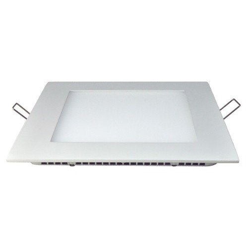 PANEL LED 12W EMBUTIR CUADRADO FRIO DIAMETRO TOTAL 16cm