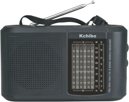 RADIO DUAL 8 BAND RECEIVER KCHIBO KK-2003