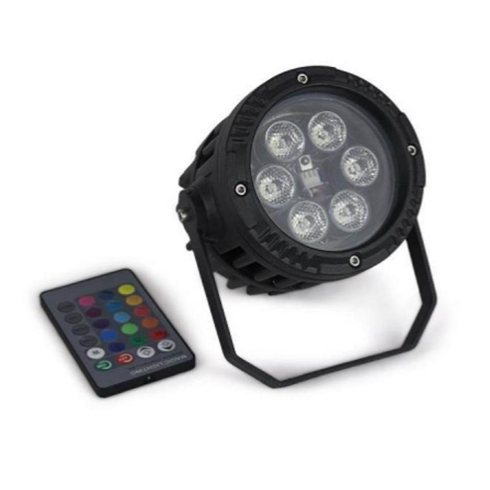 GPT SPOT RGB LED 6X3W IP65 FLOOR