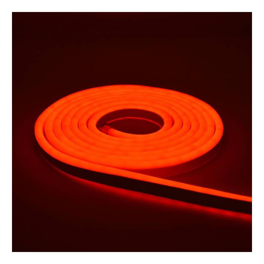 CHL ROLLO FLEXIBLE NEON LED 5MT 12V COLOR ROJO