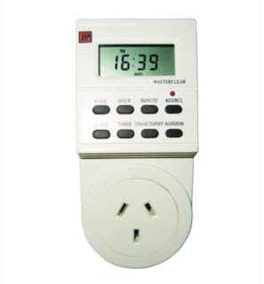 TIMER DIGITAL PROGRAMABLE TM-9612 220V INDOOR VIDRIERA