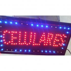 CARTEL LED SIMPLE CELULARES