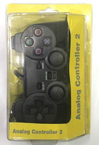 JOYSTICK PS2 PLAY STATION 2 ANALOGICO CON CABLE BLISTER