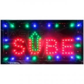 CARTEL LED SIMPLE SUBE