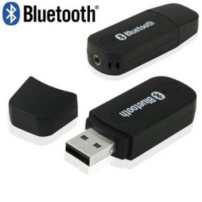 ADAPTADOR RECEPTOR  USB BLUETOOTH PARA AUDIO CON ENTRAD